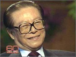 Jiang Zemin discussed a wide range of topics during the interview with Wallace.