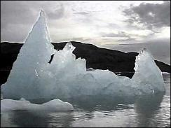 Melting ice, Svalbard, Arctic circle