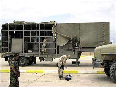 saddam bioweapons anthrax trailer mobile labs