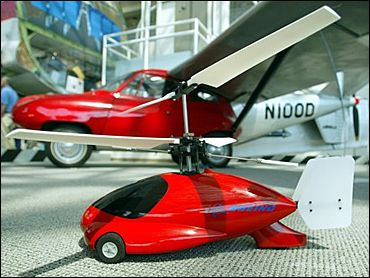 Boeing counterrotating flying car - helicopter