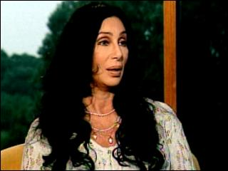Cher On Operation Helmet