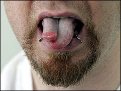Extreme Body Piercing