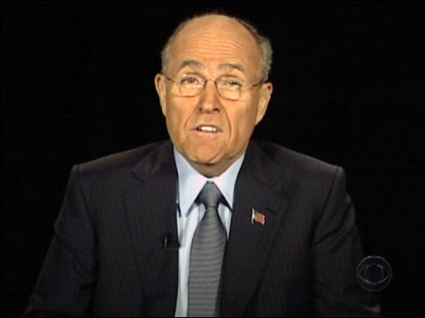freeSpeech: Rudy Giuliani