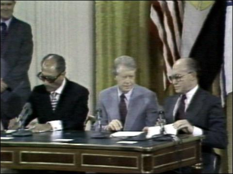 1978: Camp David Accords