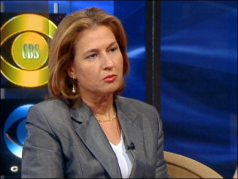 Eye To Eye: Tzipi Livni