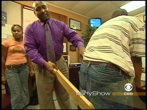 boys school corporal punishment scenes