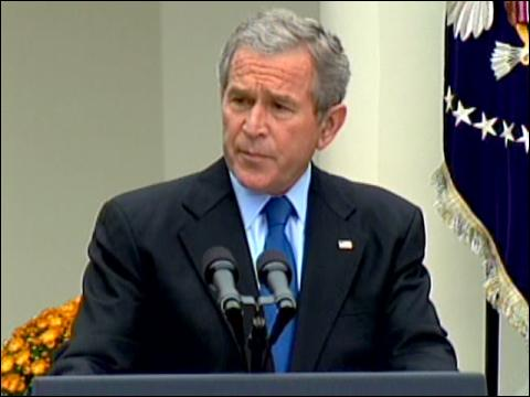 Bush: Nuke Claim Is A Threat
