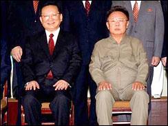 Tang with Kim Jong Il