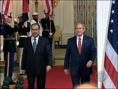 Bush Backs Iraqi PM