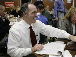 Democratic Senatorial candidate, Pennsylvania State Treasurer Bob Casey