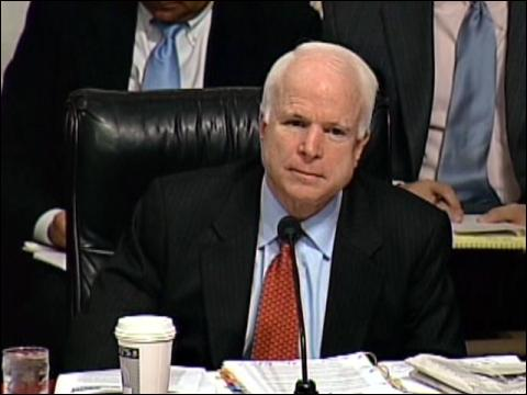 McCain Doubts General On Iraq