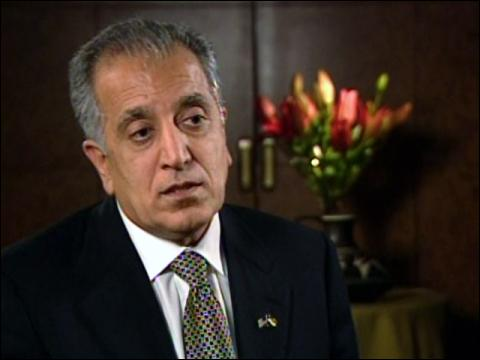 Eye To Eye: Zalmay Khalilzad
