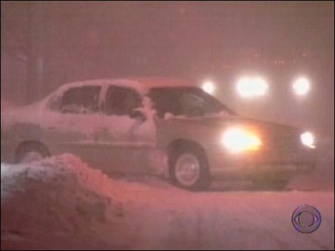 Winter Storm Strands Thousands