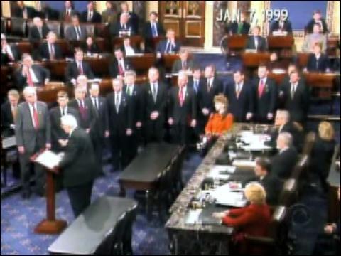 bill clinton impeachment. Clinton#39;s Impeachment Trial