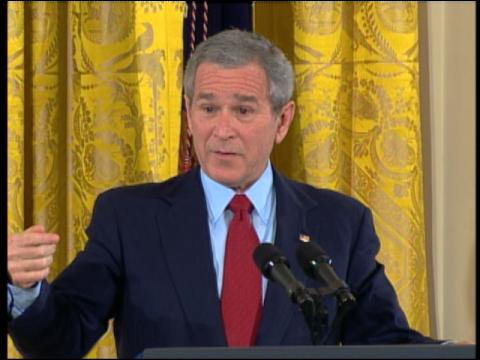 Bush: U.S. Not Provoking Iran