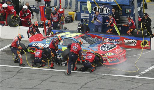 jeff gordon car photos. Jeff Gordon#39;s winning car