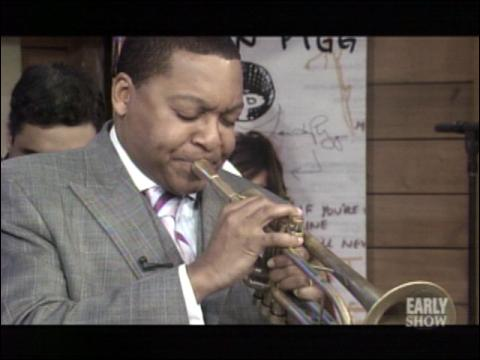 Wynton Marsalis Drops By