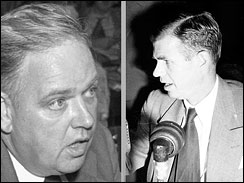 Whittaker Chambers, Alger Hiss, House Unamerican Activities Committee, espionage, spy,