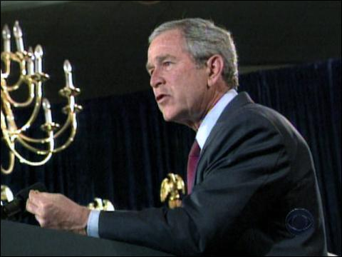 Bush Won't Negotiate War Funds