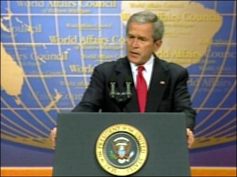 Bush: Iraq Security Is Top Job
