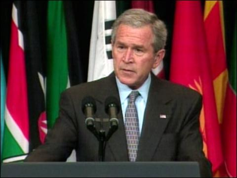 Bush Optimistic On Iraq