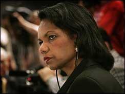 Condoleeza Rice at Iraq conference