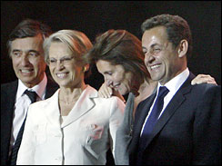 President-elect Nicolas Sarkozy, Paris, France, May 6, 2007