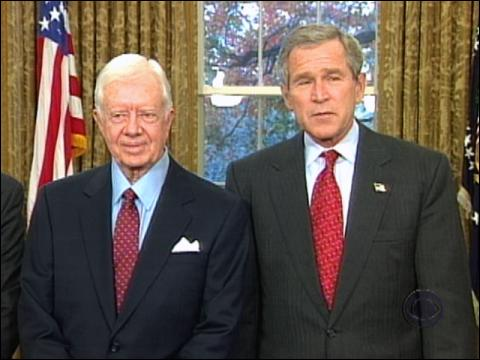 Carter Bashes Bush