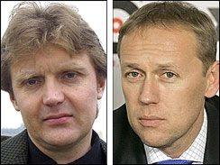Alexander Litvinenko and Andrei Lugovoi