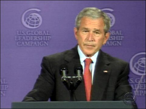 Bush's Climate Change Policy