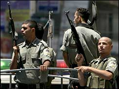 Fatah on patrol in Ramallah