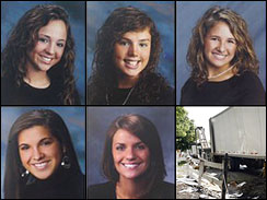Cheerleaders Killed in Auto Accident http://kimmarkham.girlshopes.com/cheerleadersdieinfierycrash/
