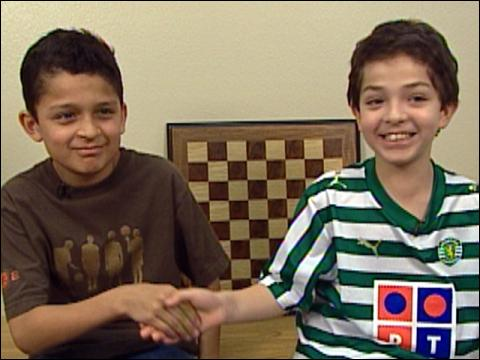 Two Chess Stars Face Off