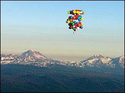 Oregon Man Flies 193 Miles In Lawn Chair Image3040162g