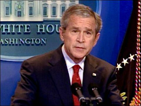 Bush Defends Iraq Strategy