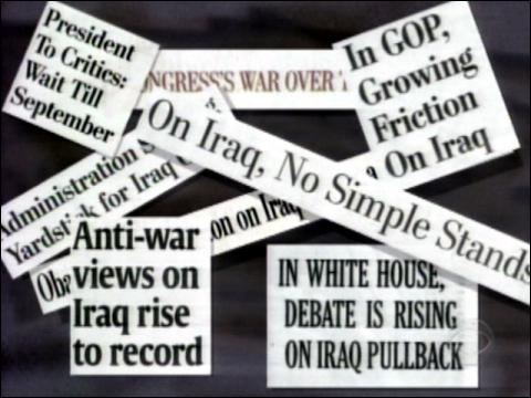The War Of Words Over Iraq