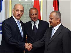 Arab League visits Israel
