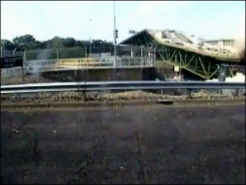 Bridge Collapse Caught On Tape