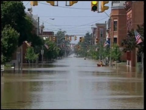 Ohio Town Underwater - CBS News Videoohio town