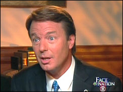 Sen. John Edwards On Face The Nation