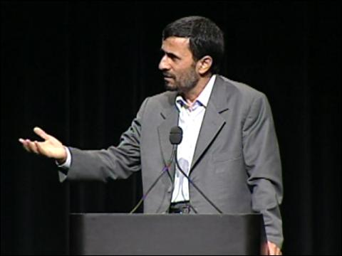 Ahmadinejad Reacts To 'Insult'
