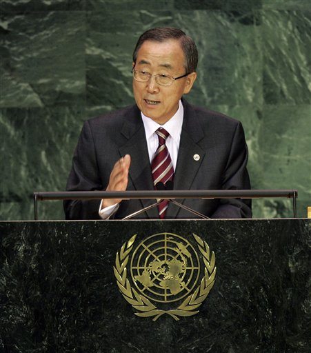 CBS News: UN Chief: World Sees 'Daunting' Problems