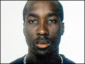 Image provided by Italian Police in Perugia, central Italy, of a man from the Ivory Coast identified as Rudy Hermann Guede, allegedly the fourth suspect in the slaying of a British student in central Italy, Monday, Nov. 19, 2007.