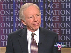 "Sen. Joe Lieberman, I-Conn., on ""Face The Nation"""