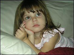 This undated photo released by the Orange County Sheriffs Office in Orlando, Fla. on July 18, 2008, shows Caylee Marie Anthony, 2, who has been missing more than a month.