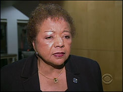 Alice A. Huffman, president of the California chapter of the NAACP says homosexuals