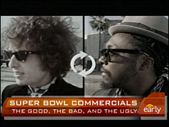 Superbowl Pepsi commercial
