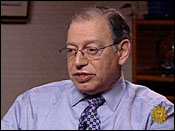 Mark Augustin Castellano, suspected murderer, on Dr. Phil, in court