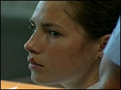 Amanda Knox during her testimony in Italian court, June 12, 2009.