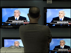 Netanyahu calls for creation of limited Palestinian state